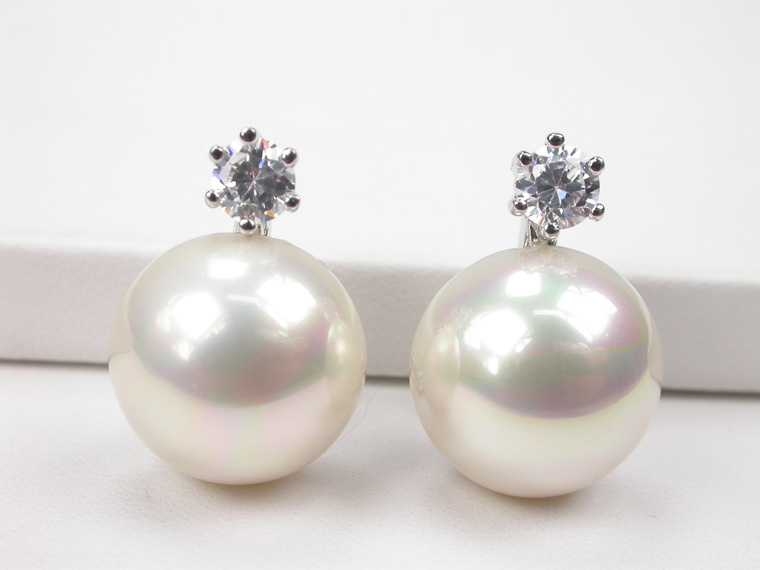 102445bcbb1d Pendientes de perlas con clip modernos - Amplia selección en ...