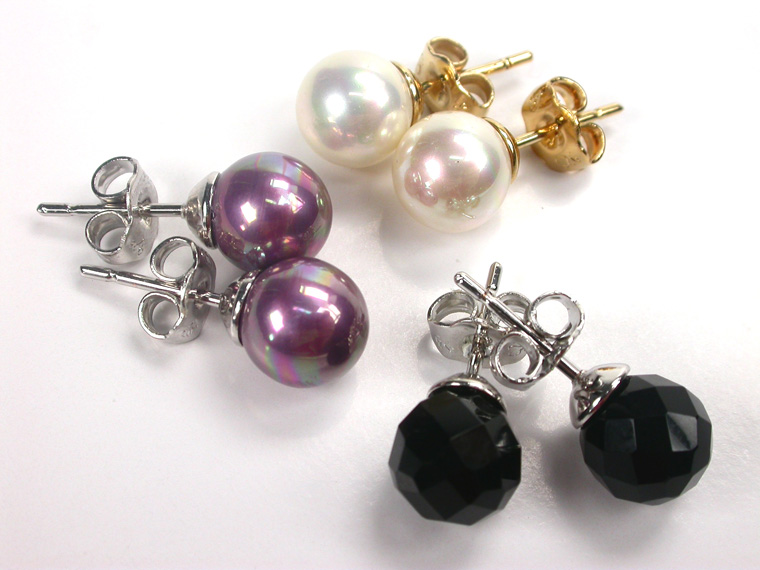 Set of 3 pairs of Earrings in different styles