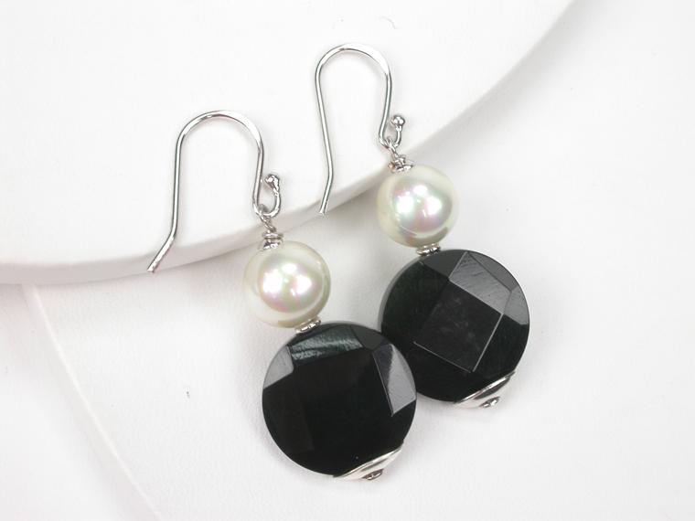 600724a7f488 Pendientes de perlas con piedras preciosas - Amplia selección en ...