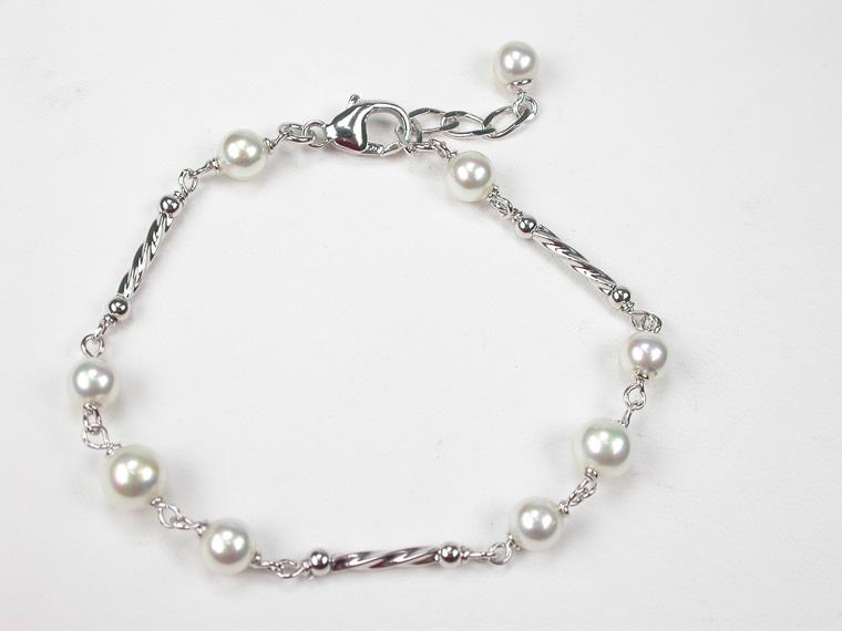 c4100e8e6c96 Conjuntos de joyas de perlas incrustadas en plata - Amplia selección ...