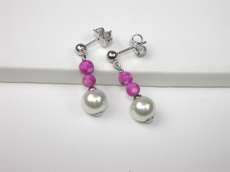 282c2690b068 Pendientes de perlas - Amplia selección en ORQUIDEA SHOP